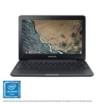 "Samsung Electronics XE500C13 Chromebook 3 2GB RAM 16GB SSD Laptop, 11.6"" - $200.00"