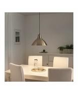 """IKEA, FOTO Pendant lamp, brass color 15"""" - $37.44"""