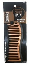 "Conair Copper Collection Easy Styling Detangle Smooth Control 7"" Hair Comb - $7.91"