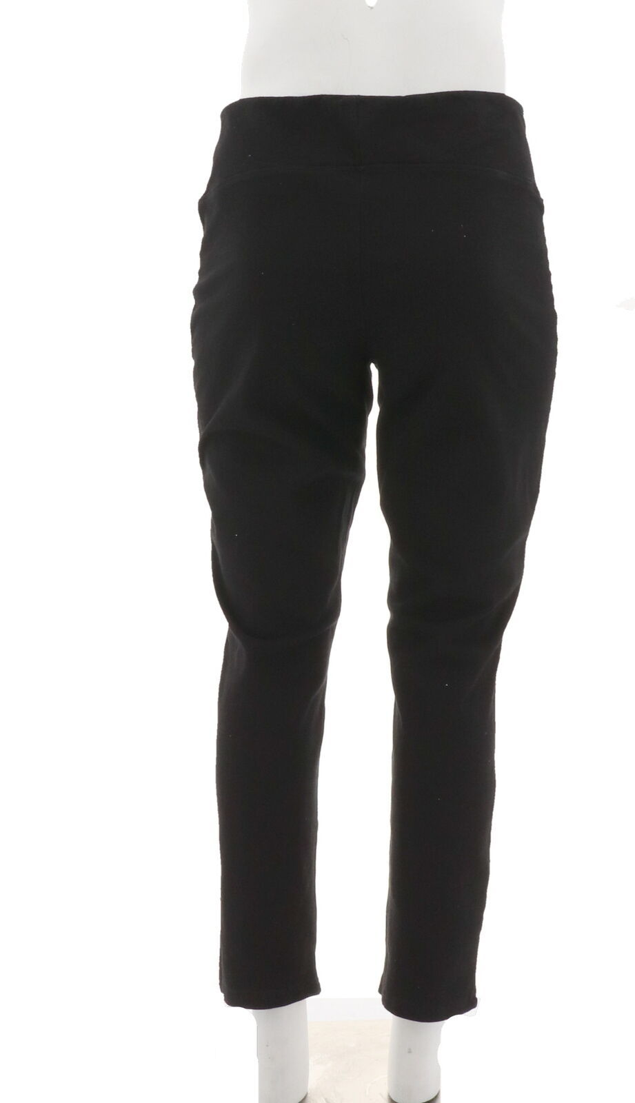 Women with Control Prime Stretch Denim Novelty Jeans Black L NEW A301364 image 3