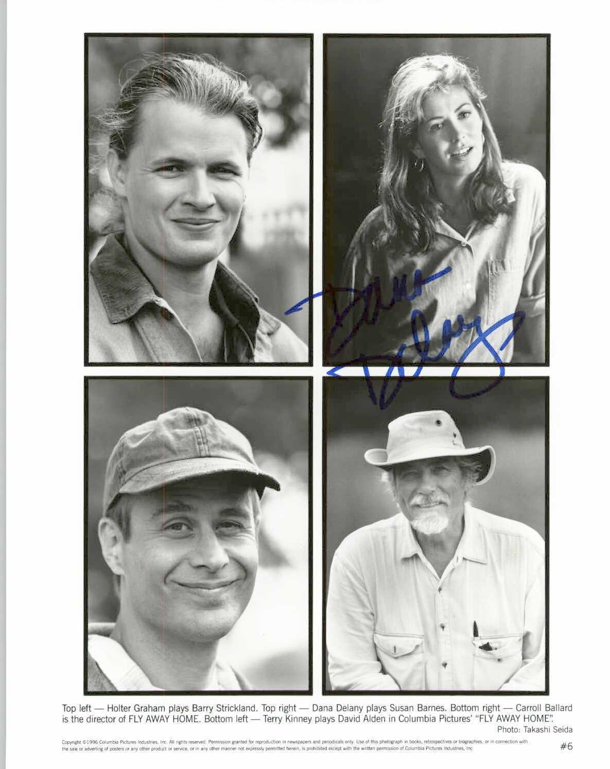 "Primary image for Dana Delany Signed Autographed ""Fly Away Home"" Glossy 8x10 Photo"