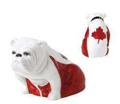 Royal Doulton Canada Bulldog Rocky DD 005 Figurine # 40000709 New - $321.75