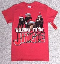 WELCOME TO THE JINGLE MEN LARGE WOMEN COTTON T-SHIRT NEW - $11.75