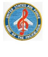 Military Band US Air Force USAF Japan Band of the Pacific Asia Airbase T... - $10.99