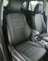MADE TO ORDER FOR NISSAN Terrano 2 1994 SEAT COVERS PERFORATED LEATHERETTE  - $173.25