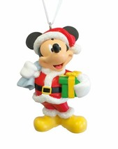 Hallmark  Mickey Mouse - Holding Green Box - Christmas Gift Ornament - $13.45