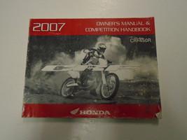 2007 Honda CRF450R Owners Operators Owner Manual Factory Oem Book New - $54.44