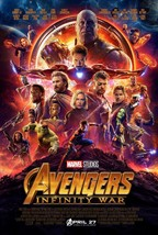 "Avengers Infinity War Movie Poster 14x21"" 27x40"" 32x48"" Marvel Comics Fi... - $9.90+"