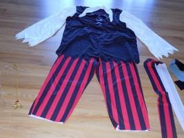 Men's Size Large California Costumes Buccaneer Pirate Halloween Costume EUC - £34.59 GBP