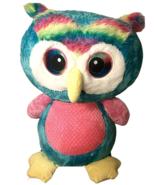 Three Foot Rainbow Owl Fun Fun Toys Stuffed Animal - $29.69