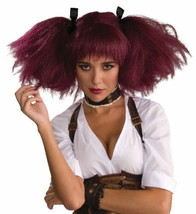 SteamPunk Sally Cosplay Burgundy Adult Womens Pigtails Wig Costume, NEW ... - $15.72