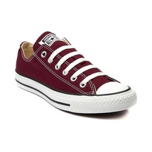 New Converse All Star Classic Lo Top Maroon Canvas Chuck Taylor Womens - $100.00