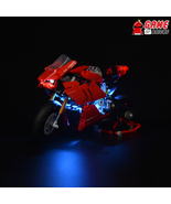 LED Light Kit for Ducati Panigale V4 R - Compatible with Lego 42107 Set - $26.99