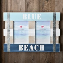 Double Blue Beach Frame 6 x 4 from gifts by fashioncraft  - $20.99