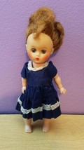 "Vintage Ginger 8"" Walker Doll  - $24.38"