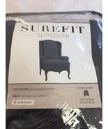 SureFit Slipcover 1 Piece Slipover Wing Chair (KF) - $14.25