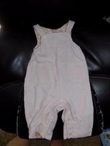 Ralph Lauren Light Pink Romper Overall Size 3/6 Months Girl's EUC - $14.82