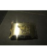 """Wild Horses Belt Buckle 3"""" x 2"""" - $2.93"""