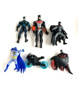 Dc Batman Action Figure Lot Toys Motorcycle - $9.89