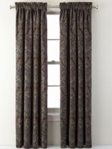 Nwt $220 1 Pair Jcpenney Royal Velvet Manchester Curtain Panels 50X95 (1 Pair) - $110.88