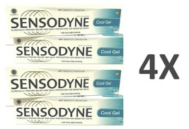 4 X Sensodyne Toothpaste Cool Gel For Sensitive Teeth 100g - FREE SHIPPING - $39.90