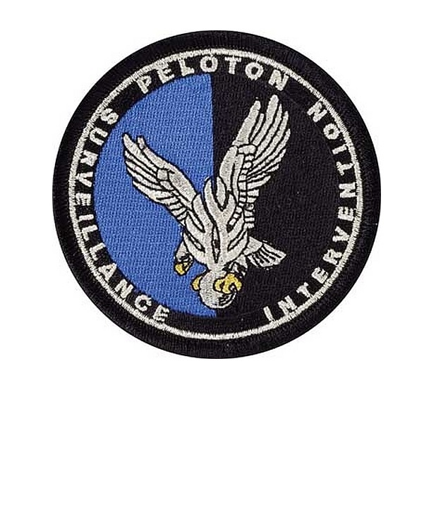 Rmerie leloton surveillance intervention p.s.i.g. french national police swat 3.5 x 3.5 in 9.99