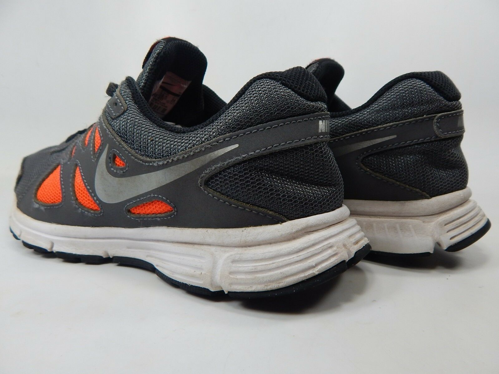 Nike Revolution 2 Size 6 M (Y) EU 38.5 Youth Kid's Running Shoes Gray 555082-017