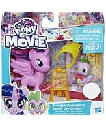 My Little Pony The Movie Twilight Sparkle With Spike the Dragon Exclusive - $9.33