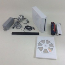 Nintendo Wii Video Game Console (White) Lot with Game Remotes and Access... - $66.78