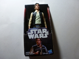 Star Wars Hans Solo Action Figurine - $11.99