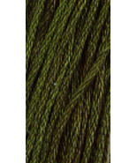 Forest Glade (0190) 6 strand hand-dyed cotton floss Gentle Art Sampler T... - $2.15