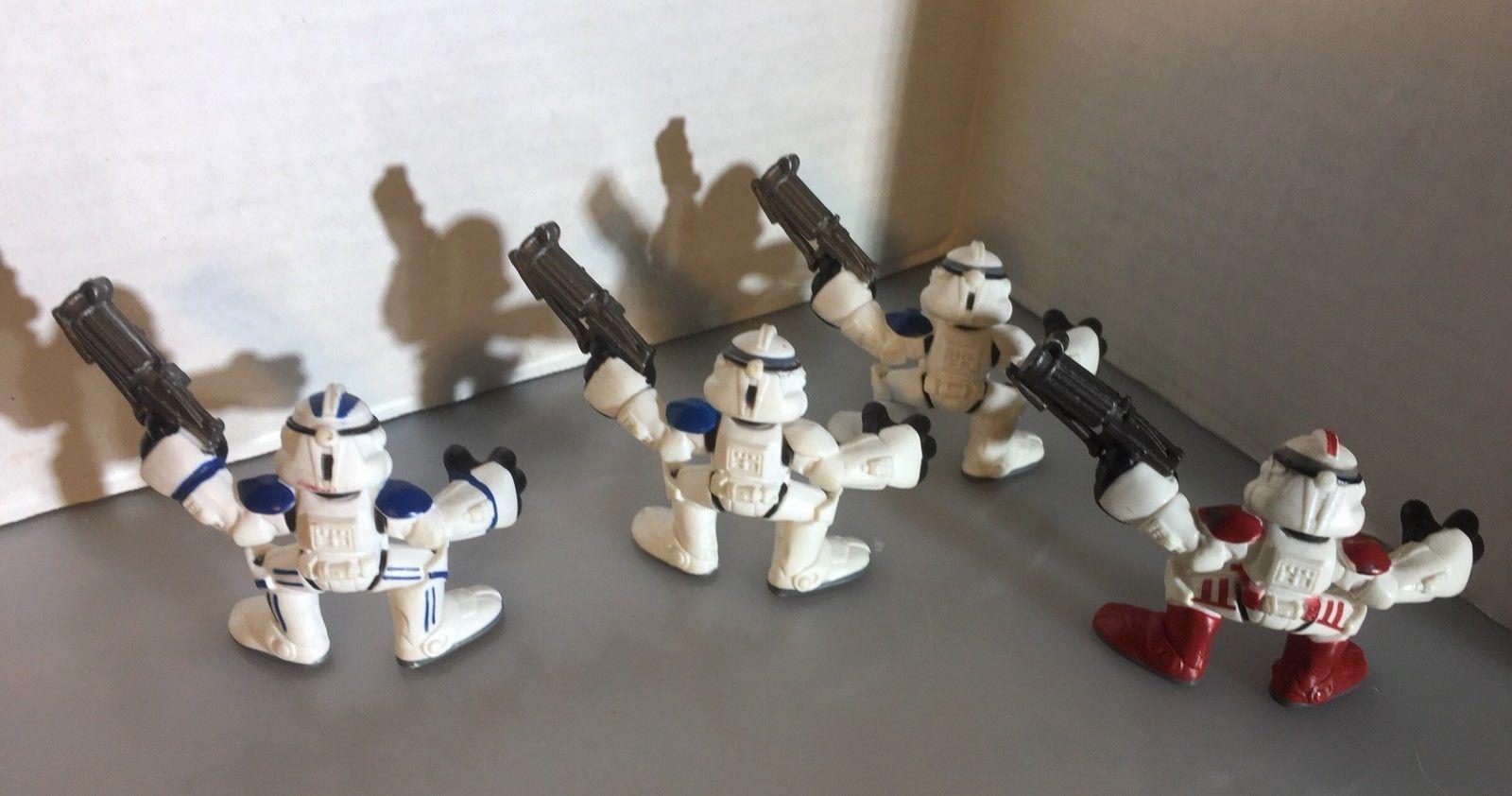 STAR WARS ™ SHOCK TROOPER ROTS 2004 Clone Trooper Loose