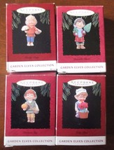 HALLMARK GARDEN ELVES COLLECTION 1994 CHRISTMAS ORNAMENTS WHOLE SET! - $18.99