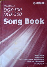 Yamaha Song Book for DGX-500 DGX-300 Keyboards, 97 Songs, 160 Page Booklet - $24.74