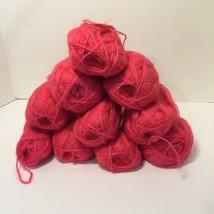 10 Skeins Melody Yarn Bucilla Pink Mohair Blend 1 oz - $38.69