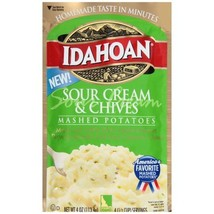 Idahoan Sour Cream & Chives Mashed, 4 oz Pouch - $2.12