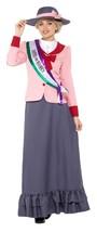 Lujo Victoriano Sufragista Disfraz, Vestido Disfraz Histórico, Talla UK ... - $40.90