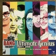 Big Bang Theory Ultimate Genius Party Board Game Flags Sketching Charades Trivia - $19.79