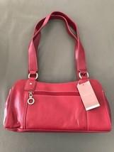 "MERONA Women's Red Satchel Purse Shoulder Bag Handbag ""NEW WITH TAGS"" - $20.57"