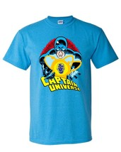 Captain Universe T Shirt retro Marvel Comics vintage 70s Micronauts heathered image 1