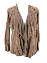 Ann Taylor Loft Petites Women's Brown 3/4 Sleeve Cardigan Size Small Petite - $14.85