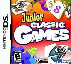 Junior Classic Games  (Nintendo DS, 2009) - $3.11