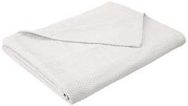 Superior 100% Cotton Thermal Blanket Soft and Breathable Cotton for All ... - $48.23