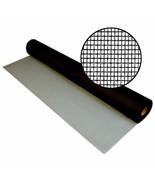 New Window Screen Fabric 48x36 Charcoal Door Screen Replacement 18x16 mesh - $5.99