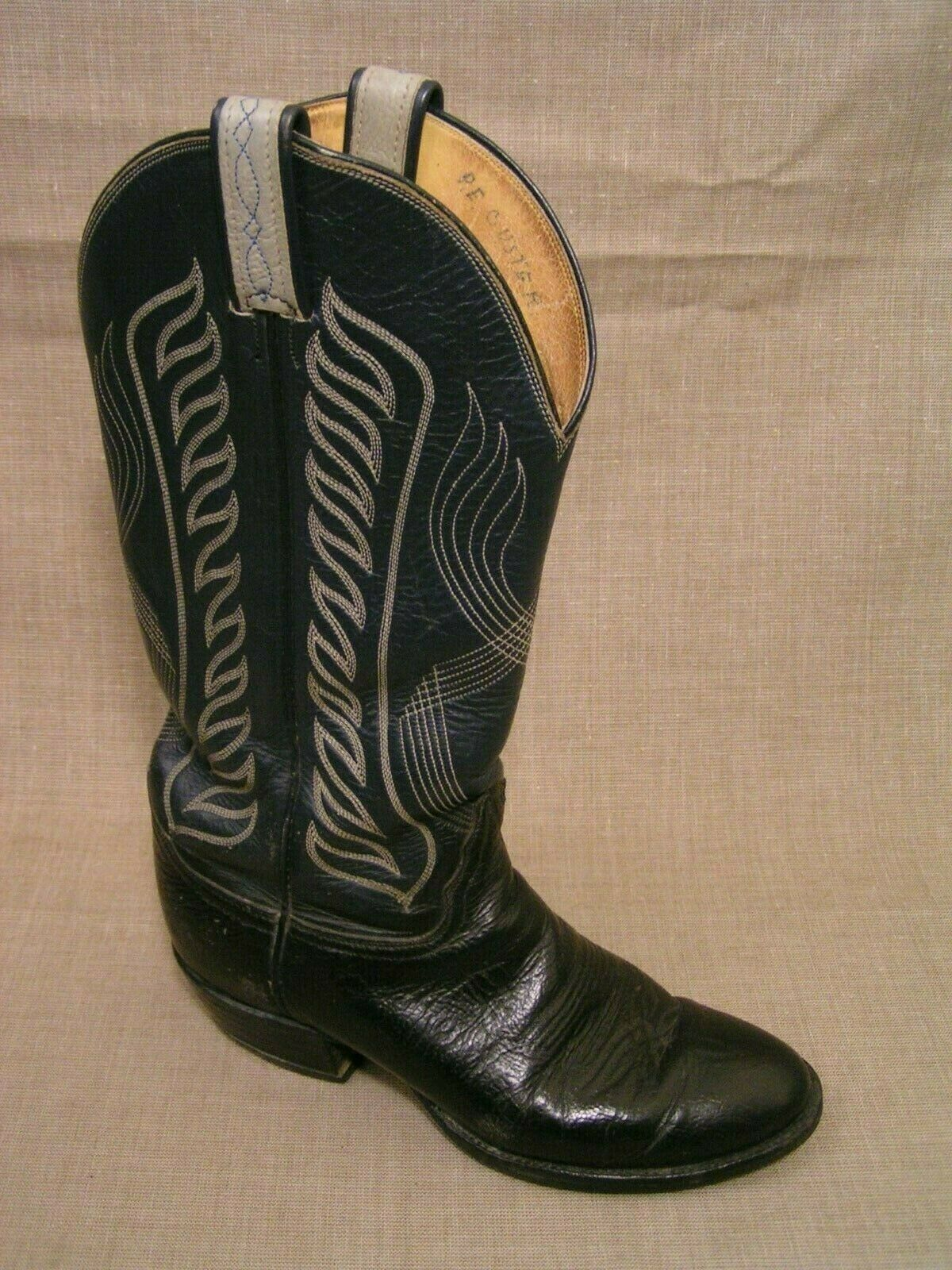 Tony Lama # 8119 Made in USA Black & Green and 50 similar items
