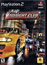 Minight Club Street Racing - Playstation 2  - $9.95