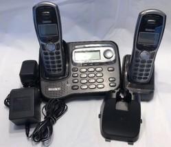 UNIDEN TRU9465-2 5.8 GHz Cordless Handset Base, 2 Handsets, Cradle + Ada... - $79.99