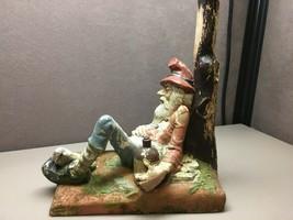 Vintage Holland Mold Drunk Miner Gnome Ceramic - $168.29