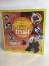 NEW NATIONAL GEOGRAPHIC KIDS - WEIRD BUT TRUE! THE GAME BOARD GAME - $19.80