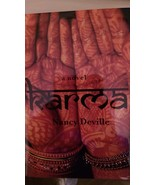 2010 SIGNED Karma Hardcover  Nancy Deville - $49.99